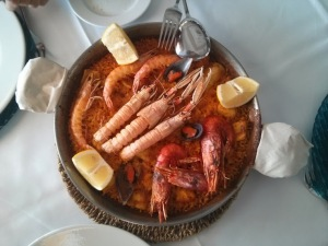 Paella without Chorizo